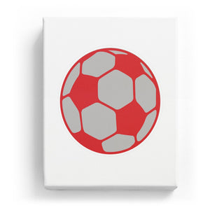 Soccer Ball - No Background (Mirror Image)