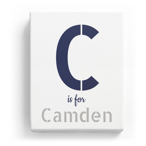 C is for Camden - Stylistic