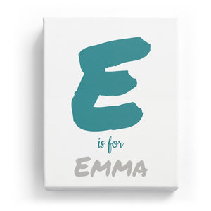 E is for Emma - Artistic