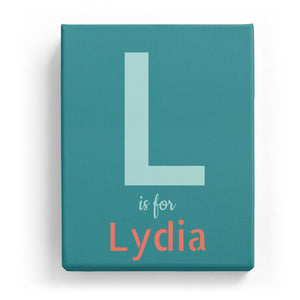 L is for Lydia - Stylistic