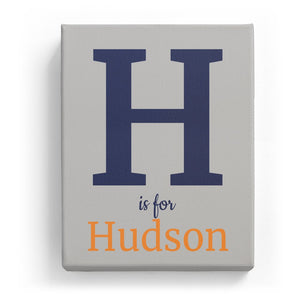 H is for Hudson - Classic