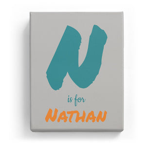 N is for Nathan - Artistic