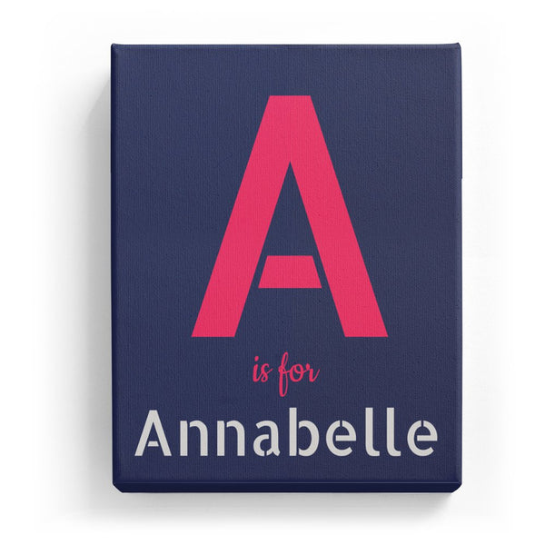 A is for Annabelle - Stylistic