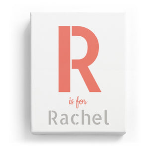 R is for Rachel - Stylistic