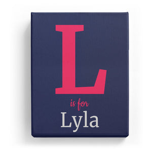 L is for Lyla - Classic