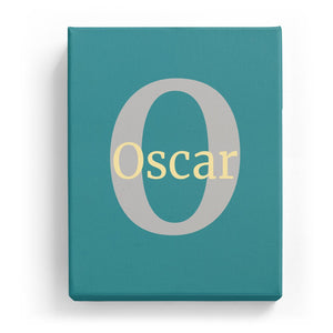 Oscar Overlaid on O - Classic