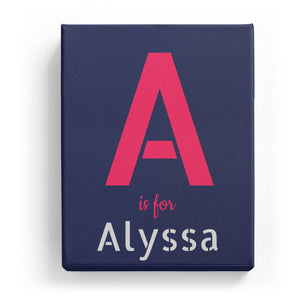 A is for Alyssa - Stylistic