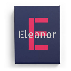 Eleanor Overlaid on E - Stylistic