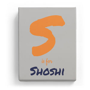 S is for Shoshi - Artistic