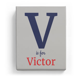 V is for Victor - Classic