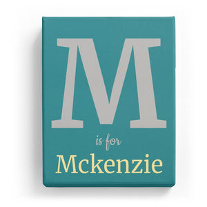 M is for Mckenzie - Classic