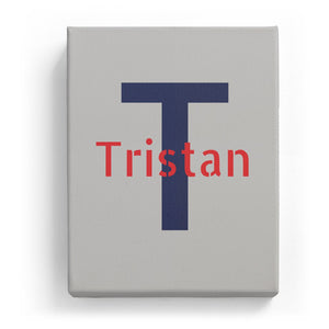 Tristan Overlaid on T - Stylistic