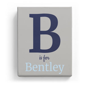 B is for Bentley - Classic