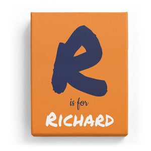 R is for Richard - Artistic