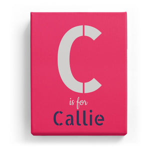 C is for Callie - Stylistic