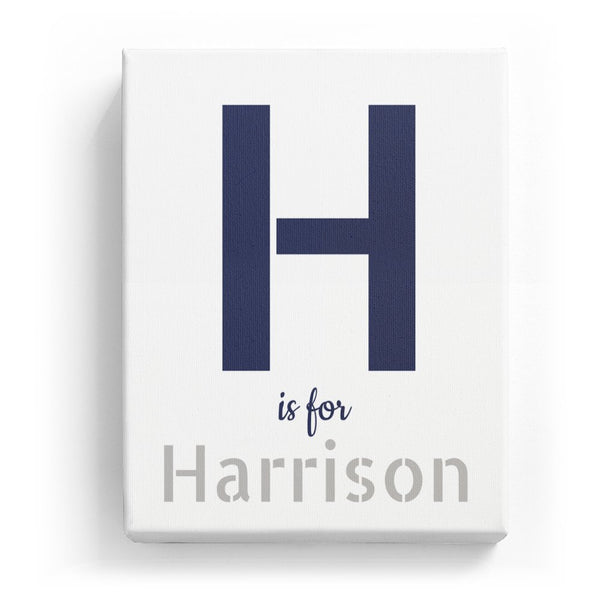 H is for Harrison - Stylistic