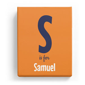 S is for Samuel - Cartoony
