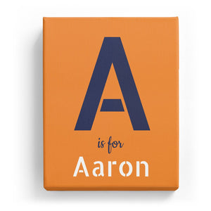 A is for Aaron - Stylistic