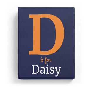 D is for Daisy - Classic