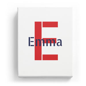 Emma Overlaid on E - Stylistic