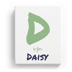 D is for Daisy - Artistic