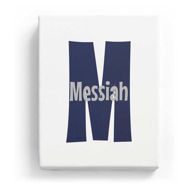 Messiah Overlaid on M - Cartoony