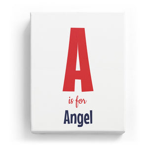 A is for Angel - Cartoony