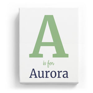 A is for Aurora - Classic