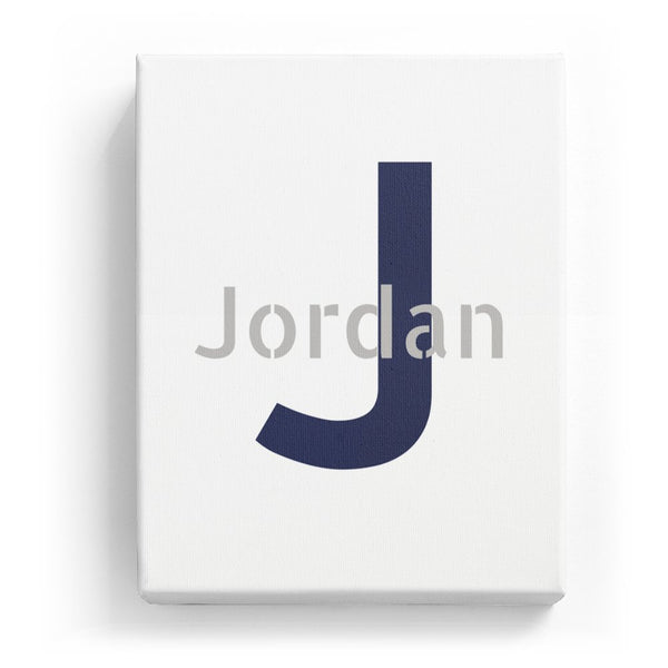Jordan Overlaid on J - Stylistic