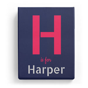 H is for Harper - Stylistic