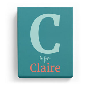 C is for Claire - Classic