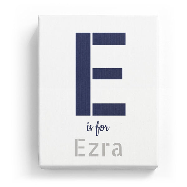 E is for Ezra - Stylistic
