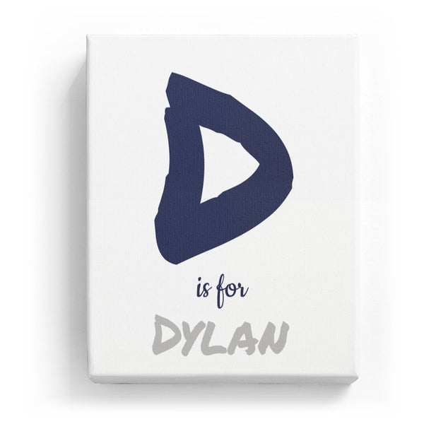 D is for Dylan - Artistic