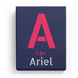 A is for Ariel - Stylistic