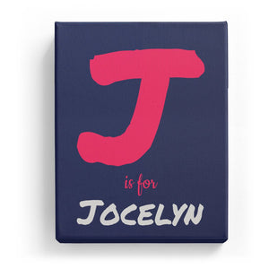 J is for Jocelyn - Artistic