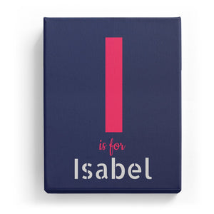 I is for Isabel - Stylistic