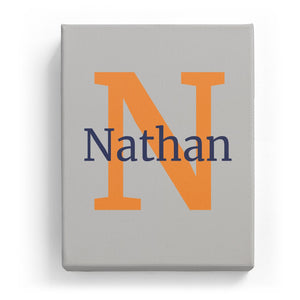 Nathan Overlaid on N - Classic