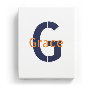 Grace Overlaid on G - Stylistic