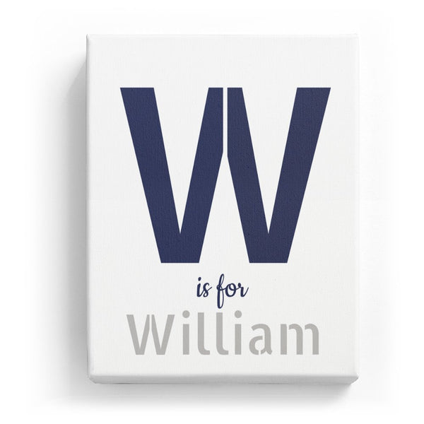 W is for William - Stylistic