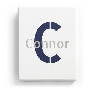 Connor Overlaid on C - Stylistic
