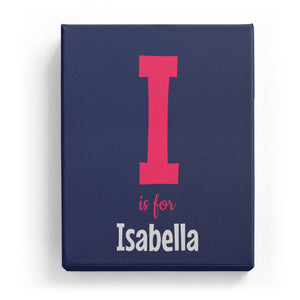 I is for Isabella - Cartoony