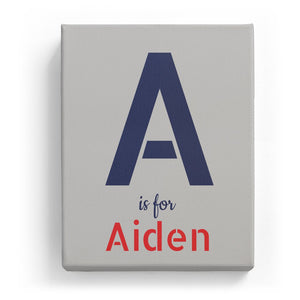A is for Aiden - Stylistic