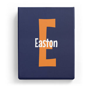 Easton Overlaid on E - Cartoony