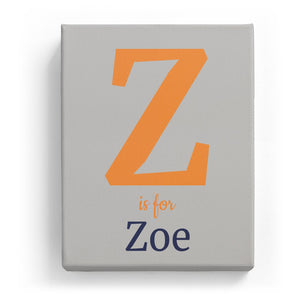 Z is for Zoe - Classic