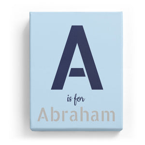 A is for Abraham - Stylistic