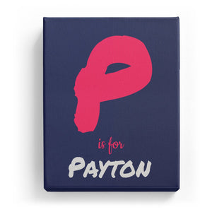 P is for Payton - Artistic