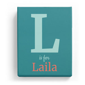 L is for Laila - Classic