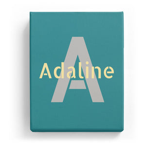 Adaline Overlaid on A - Stylistic