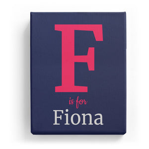 F is for Fiona - Classic