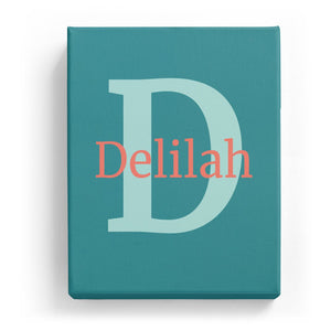 Delilah Overlaid on D - Classic